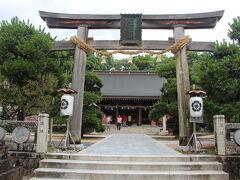 秋吉台から萩に向かい、松陰神社に参拝です。