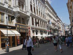 ●コールマルクト通り  王宮を後に、ランチに向かいます。 コールマルクトという通り。
