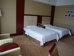 部屋はスーペリアルーム。広い部屋です。