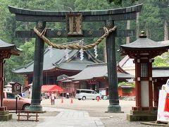 二荒山神社 唐銅鳥居