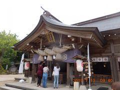 八重垣神社へ。まずはお参りして御朱印ゲット。