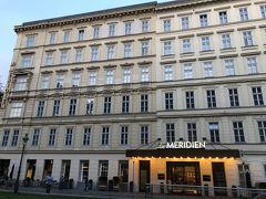 本日のお宿は、「ル メリディアン ウィーン」です。 SPGから予約しました。