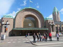 ヘルシンキ中央駅に到着。  トラムでホテルまで移動し、荷物を置いて観光することに。