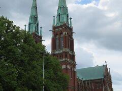 聖ヨハネス教会。 今回ヘルシンキで一番立ち寄りたかった教会です。 前回は開館時間の関係で中に入れませんでした。