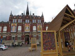 聖ヨハネス教会、デザイン美術館の最寄は、このJohanneksenkirkko駅になります。