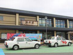 水戸駅から約1時間半。 いわき市の湯本駅に到着します。  ここはかつては炭鉱が多くあった町で、現在は「ハワイアン・リゾート」など温泉観光地の駅です。