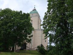 スオメンリンナ教会 灯台としての役割も担っているそう