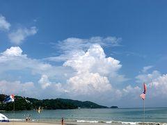 ゆっくり朝食を頂いた後は、パトンビーチにきました! とはいえ、海には入らず写真とっただけ~。