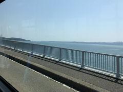 海を越えて能登島へ! 右を見ても左を見ても海!!
