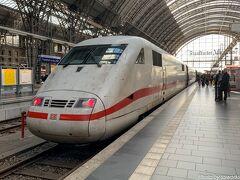 ドイツ国鉄はグダグダでしたが、ようやくフランクフルト中央駅に到着