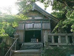 ちなみに麓にある大祖神社を参拝しました🙏 芥屋の大門が御神体なんだろうか? わかりませんでした