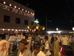 と思ったら、台風6号の影響で船は出ず、神輿は陸路で貴船神社へ…  来年の再訪を誓ったのであった。