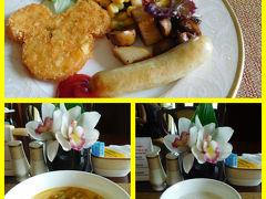 9:00  おはようございます♪( ´θ`)ノ  本日もラウンジで朝ゴハンです!  3種類あるオーダー麺のうち今日はお野菜にしてみましたが、昨日のポークの方が美味しかったな~。