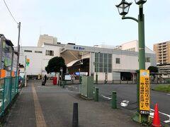 朝5時台の保谷駅からスタート。  物凄く蒸し暑くて、駅までの道中でもう汗だく...  東京の夏は本当に暑いです。