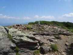 五色岳(標高1868m)に登頂