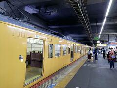 岡山駅に着いた。 これはローカル線