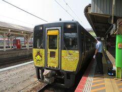 JR米子駅に着いた 乗ってきた スーパーまつかぜ6号
