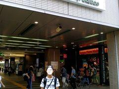 高円寺駅に到着し荷物を預けて観光スタートします