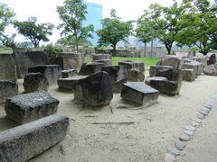 大阪城 石切場の刻印