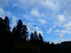 6:00 起床  朝風呂で身を清め、出羽三山神社の「朝御饌祭(あさみけさい)」参加へ