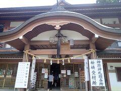 参集殿から入ります  神事終了後、この中にある千仏堂も見学 ぜひともじっくり拝見したい仏さまがいっぱいお祀りされていました