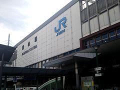 岡山駅で連れと別れ、私は岡山泊まりにしました。