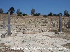 アマサス(?μαθο?ς)  紀元前12世紀ころから続いた古代都市の跡です。アクロポリス(?κρόπολις)、アプロディーテ神殿(Ναός της Αφροδίτης)、アゴラ(?γορά)、城壁、バシリカ(βασιλική)、港が発掘されています。   アマサス:https://en.wikipedia.org/wiki/Amathus アクロポリス:https://ja.wikipedia.org/wiki/%E3%82%A2%E3%82%AF%E3%83%AD%E3%83%9D%E3%83%AA%E3%82%B9 アプロディーテ神殿:https://ja.wikipedia.org/wiki/%E3%82%A2%E3%83%97%E3%83%AD%E3%83%87%E3%82%A3%E3%83%BC%E3%83%86%E3%83%BC アゴラ:https://ja.wikipedia.org/wiki/%E3%82%A2%E3%82%B4%E3%83%A9 城壁:https://ja.wikipedia.org/wiki/%E5%9F%8E%E5%A3%81 バシリカ:https://ja.wikipedia.org/wiki/%E3%83%90%E3%82%B7%E3%83%AA%E3%82%AB