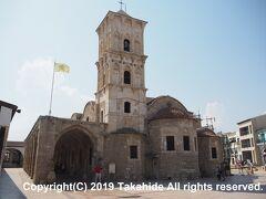 聖ラザロ教会(Ιερός Ναός Αγίου Λαζάρου)  復活後にキプロスの初代主教となった聖ラザロ(Αγίου Λαζάρου)の墓の上に建てられた教会です。   聖ラザロ教会:https://en.wikipedia.org/wiki/Church_of_Saint_Lazarus,_Larnaca 聖ラザロ教会:http://www.mcw.gov.cy/mcw/DA/DA.nsf/All/8A2AB44D662B5553C225719900325B15?OpenDocument&highlight=Agios%20Lazaros 聖ラザロ:https://ja.wikipedia.org/wiki/%E3%83%A9%E3%82%B6%E3%83%AD