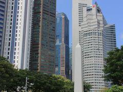 かつてのインド総督、ダルハウジー侯爵の2回目のシンガポール来訪を記念して建てられたという、ダウハルジーオベリスク。 シンガポールの歴史を物語る史跡の1つですね。