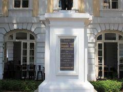 旧国会議事堂に設置されている、象の像。 昔にタイ国王から贈られたものだとか。
