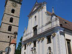 黒塔と聖ミクラーシュ大聖堂