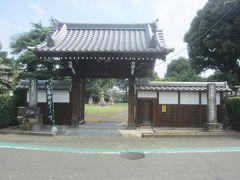 神社の脇の細い路地を進んで行くと、正面にあったのが次の七福神がある佛母寺