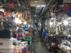 4日目 仁寺洞の地下市場 The Asiaという感じ