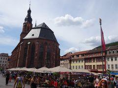 聖霊教会とマルクト広場