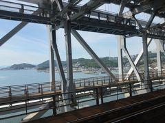 下津井漁港と鷲羽山ハイランド。