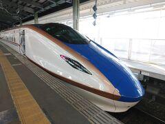 18:12 新幹線とき342号で東京へ。