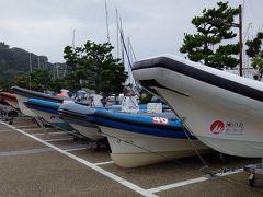 ヨットではないですが並んでいます