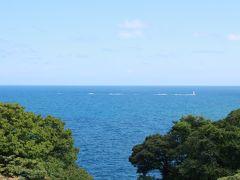 沖に目をやると、灯台らしいものが海に建っているのが観えます。  旅行三昧は、青い海に浮かぶこの灯台らしきものがどうしても気になって仕方がなかったのですが、結局何かは分からず仕舞いでした。 ま、そんなこともあっても良いですよね。