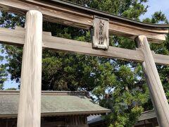 ホテルのバイキングで朝食を食べて八重垣神社へ