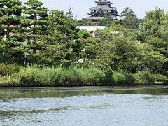 堀川めぐりで唯一松江城が見える場所