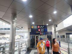 トラムからメトロへDAMAC駅にて乗りかえ。