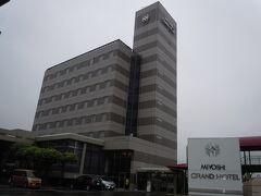途中夕食を購入しながら、一泊目の三次グランドホテルに無事辿り着きました。