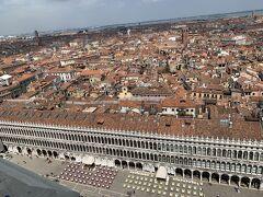 鐘楼からのヴェネツィアの眺め