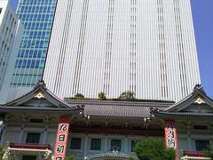 正面からの歌舞伎座