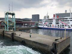 鹿児島港到着。