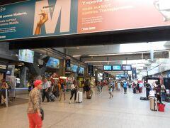 パリのホテルをいったんチェックアウトして  モンサンミッシェル(MSM)1泊旅行に出発  RERとメトロを乗り継いでモンパルナス駅へ行く  モンパルナスからレンヌはTGV(日本で予約)