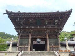 長谷寺の山門です 今から399段の石段を登ります