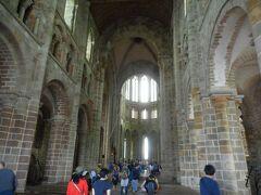 モンサンミッシェル修道院  付属教会