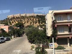 何もないところを通りぬけ、セルチュクの街に入りました。 エフェソス城を横目にしながらまずは腹ごしらえ