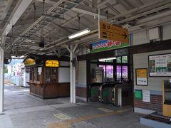 7分遅れくらいで到着、既に折り返し高崎行きの出発時間は過ぎています。  駅の外に出る余裕もないみたいです。